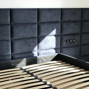 Minkštos 3D sienų plokštės, lovos, galvūgaliai / Gražvydas / Darbų pavyzdys ID 604775