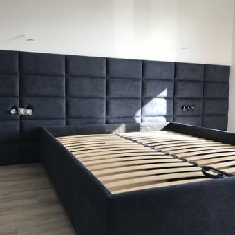 Minkštos 3D sienų plokštės, lovos, galvūgaliai / Gražvydas / Darbų pavyzdys ID 604777