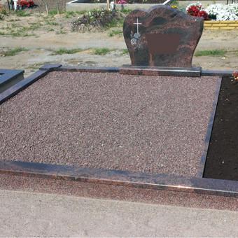 Paminklai, plokštės, trinkelės, kapų tvarkymas / Vainatrakio kapinės / Darbų pavyzdys ID 605007