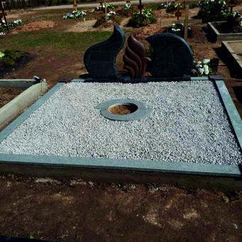 Paminklai, plokštės, trinkelės, kapų tvarkymas / Vainatrakio kapinės / Darbų pavyzdys ID 605009