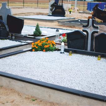 Paminklai, plokštės, trinkelės, kapų tvarkymas / Vainatrakio kapinės / Darbų pavyzdys ID 605013