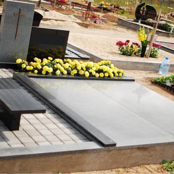 Paminklai, plokštės, trinkelės, kapų tvarkymas / Vainatrakio kapinės / Darbų pavyzdys ID 605015