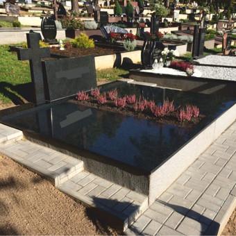 Paminklai, plokštės, trinkelės, kapų tvarkymas / Vainatrakio kapinės / Darbų pavyzdys ID 605019