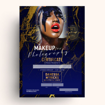 The Makeup Lovers diplomo sukūrimas