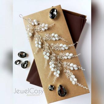 JewelCosy rankų darbo proginiai papuošalai į plaukus / Jelena Kudimova / Darbų pavyzdys ID 606137