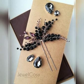 JewelCosy rankų darbo proginiai papuošalai į plaukus / Jelena Kudimova / Darbų pavyzdys ID 606151