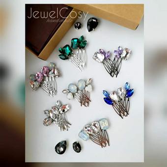 JewelCosy rankų darbo proginiai papuošalai į plaukus / Jelena Kudimova / Darbų pavyzdys ID 606155