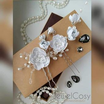JewelCosy rankų darbo proginiai papuošalai į plaukus / Jelena Kudimova / Darbų pavyzdys ID 606157