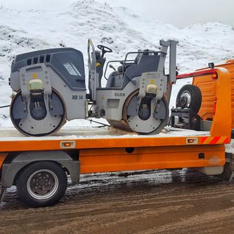 Tralas Traliukas Techninė pagalba kelyje platforma iki 4-t / Tralas Traliukas / Darbų pavyzdys ID 606765