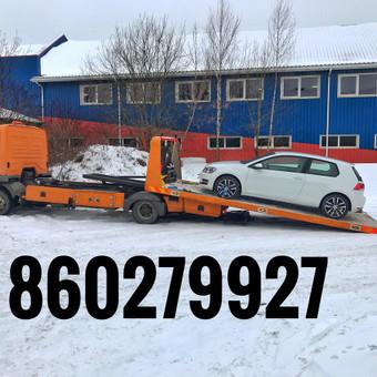 Tralas Traliukas Techninė pagalba kelyje platforma iki 4-t / Tralas Traliukas / Darbų pavyzdys ID 606775