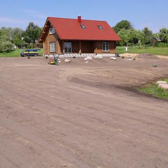 Vejos įrengimas, ruloninė veja, apželdinimas, laistymas / Aplinkos.lt / Darbų pavyzdys ID 608061