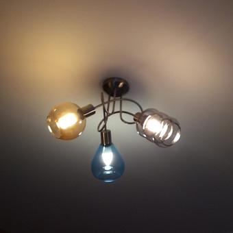 Nekasdieninio šviestuvo pakabinimas ir pajungimas