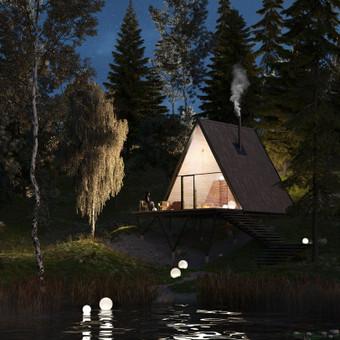 Architektūrinių vizualizacijų kūrimas / Akvilė Miniotaitė / Darbų pavyzdys ID 614235