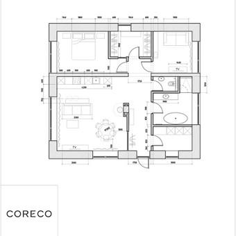 Interjero architektūra / Konsultacijos / Erika Rimšaitė - Kaziliūnė / Darbų pavyzdys ID 615947