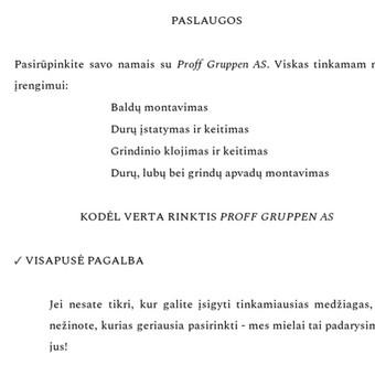 Turinio strategija verslui / Rašytoja / Copywriter (LT, EN) / Monika Ditkevičiūtė / Darbų pavyzdys ID 615993