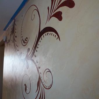Meninis sienų dekoravimas. Tapyba ant sienų, Relejefai / OrumDeko / Darbų pavyzdys ID 616599