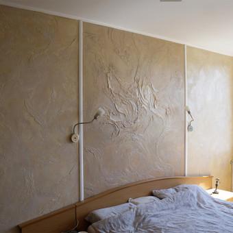 Meninis sienų dekoravimas. Tapyba ant sienų, Relejefai / OrumDeko / Darbų pavyzdys ID 616603