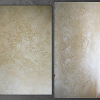 Meninis sienų dekoravimas. Tapyba ant sienų, Relejefai / OrumDeko / Darbų pavyzdys ID 616615