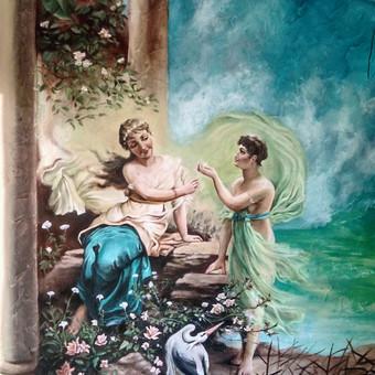 Meninis sienų dekoravimas. Tapyba ant sienų, Relejefai / OrumDeko / Darbų pavyzdys ID 616617