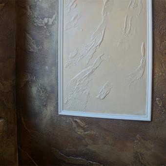 Meninis sienų dekoravimas. Tapyba ant sienų, Relejefai / OrumDeko / Darbų pavyzdys ID 616625
