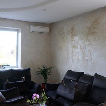 Meninis sienų dekoravimas. Tapyba ant sienų, Relejefai / OrumDeko / Darbų pavyzdys ID 616633