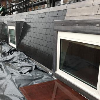 Ventiluojami / tinko / aliuminio fasadai ir langų, durų p... / Aleksejus PROFF / Darbų pavyzdys ID 617223