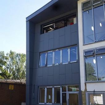 Ventiluojami / tinko / aliuminio fasadai ir langų, durų p... / Aleksejus PROFF / Darbų pavyzdys ID 617249