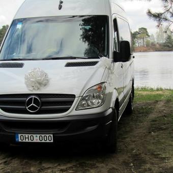 Keleivinių Mercedes Sprinter mikroautobusų nuoma / NUOMAJUMS.LT / Darbų pavyzdys ID 618039