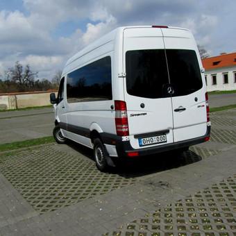 Keleivinių Mercedes Sprinter mikroautobusų nuoma / NUOMAJUMS.LT / Darbų pavyzdys ID 618047
