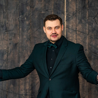 JŪSŲ ŠVENTĖS VEDĖJAS - IGNAS BASIJOKAS / Ignas Basijokas / Darbų pavyzdys ID 618863
