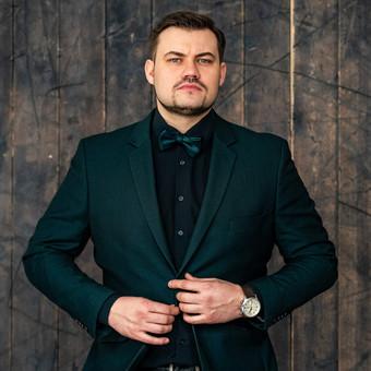 JŪSŲ ŠVENTĖS VEDĖJAS - IGNAS BASIJOKAS / Ignas Basijokas / Darbų pavyzdys ID 618865