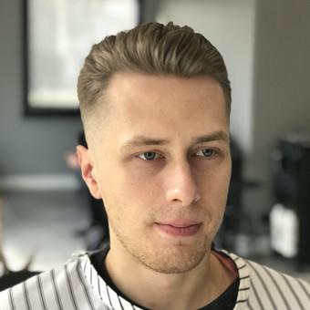 Vyriski kirpimai ir barzdu modeliavimas,skutimas / Loreta / Darbų pavyzdys ID 620677