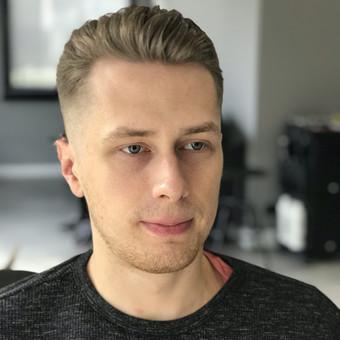 Vyriski kirpimai ir barzdu modeliavimas,skutimas / Loreta / Darbų pavyzdys ID 620679