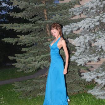 Proginė klasikinė suknelė