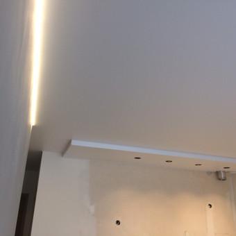 Įtempiamos lubos nuo 6.99€! Akcija! Nuolaidos! / Luminous Lubos / Darbų pavyzdys ID 622793