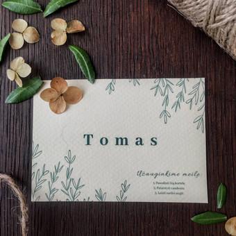 Stalo kortelių gamyba individualiai pagal Jūsų šventės temą