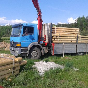 Krovinių pervežimas, iškrovimas-pakrovimas manipuliatoriumi / Valdas Vasilevskas / Darbų pavyzdys ID 625035
