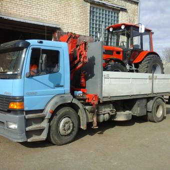 Krovinių pervežimas, iškrovimas-pakrovimas manipuliatoriumi / Valdas Vasilevskas / Darbų pavyzdys ID 625037