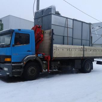 Krovinių pervežimas, iškrovimas-pakrovimas manipuliatoriumi / Valdas Vasilevskas / Darbų pavyzdys ID 625039