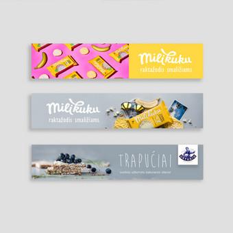 Profesionalios grafikos dizainerio paslaugos + web dizainas / Kristina Gald / Darbų pavyzdys ID 625919