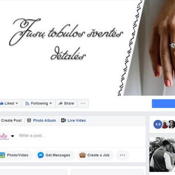 Efektyvus socialinių tinklų marketingas / Austėja Šidlauskaitė / Darbų pavyzdys ID 626435