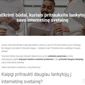 Efektyvus socialinių tinklų marketingas / Austėja Šidlauskaitė / Darbų pavyzdys ID 626449