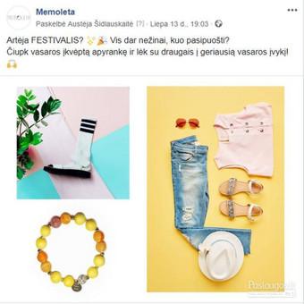 Efektyvus socialinių tinklų marketingas / Austėja Šidlauskaitė / Darbų pavyzdys ID 626451