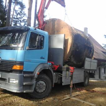 Krovinių pervežimas, iškrovimas-pakrovimas manipuliatoriumi / Valdas Vasilevskas / Darbų pavyzdys ID 628215