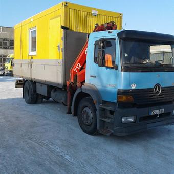 Krovinių pervežimas, iškrovimas-pakrovimas manipuliatoriumi / Valdas Vasilevskas / Darbų pavyzdys ID 628223