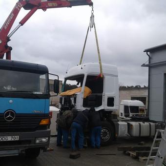 Krovinių pervežimas, iškrovimas-pakrovimas manipuliatoriumi / Valdas Vasilevskas / Darbų pavyzdys ID 628227