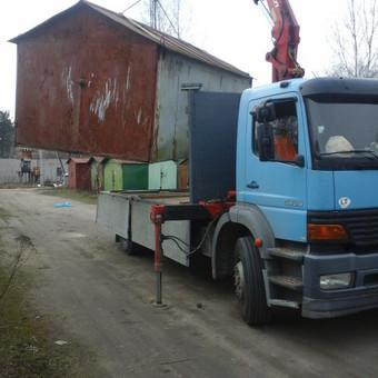 Krovinių pervežimas, iškrovimas-pakrovimas manipuliatoriumi / Valdas Vasilevskas / Darbų pavyzdys ID 628217
