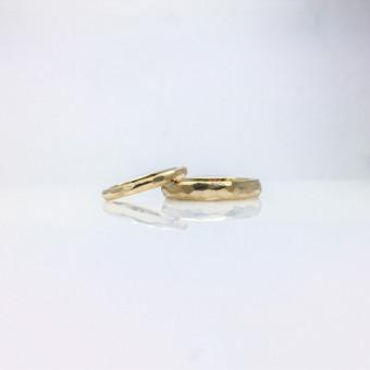 vestuvinių žiedų gamyba iš savo aukso
