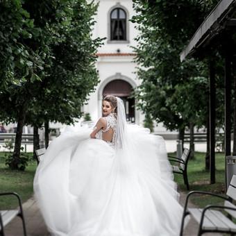 Individualus vestuvinių suknelių siuvimas / MJ Bridal Couture / Darbų pavyzdys ID 629389