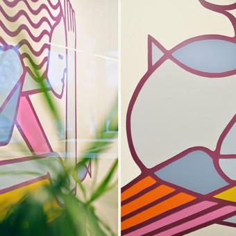 Grafika ir piešiniai ant sienų / Tadas Šimkus / Darbų pavyzdys ID 629963